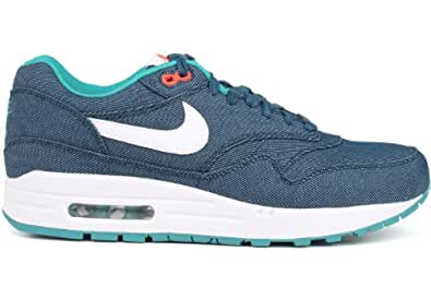 Nike Air Max 1 PRM Color Mid Turquoise / White 512033-313 Size13