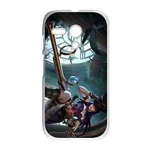 Motorola Moto G Phone Case White League of Legends-Caitlyn NLG7780076