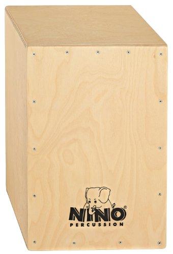 Nino Percussion NINO950 13-Inch Birch Cajon, Natural (Natural Birch Finish)
