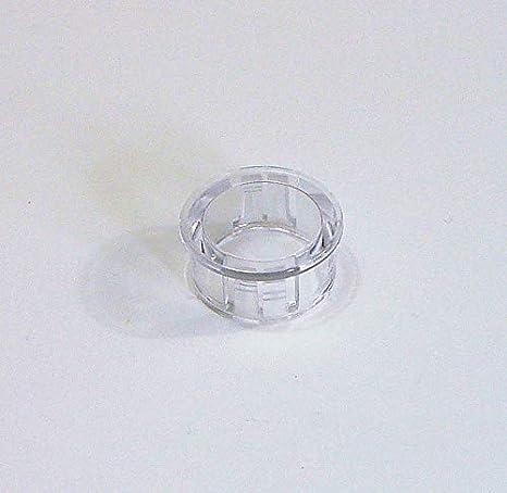 1 Piece of 1//2Clear Plastic Hole Plug HPC500