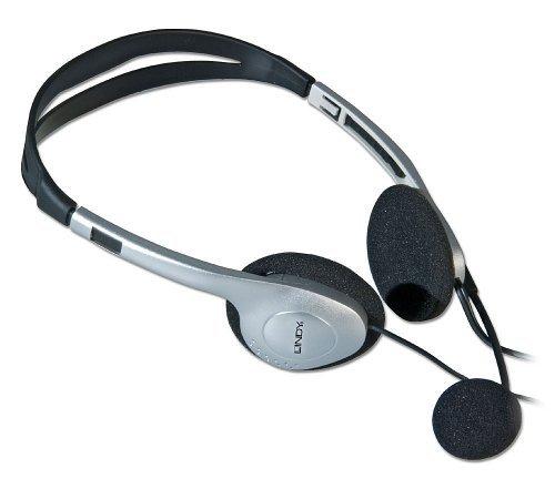 Lindy 20398 Stereo Headphones with Microphone [並行輸入品]   B07RQKF8QF