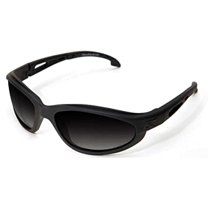 f4339b1f4f Image Unavailable. Image not available for. Color  Edge Tactical Eyewear  TSFG716 Falcon Matte Black with Polarized Gradient Smoke Lens