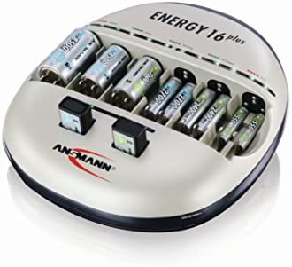 Ansmann Energy 16 Plus Battery Charger