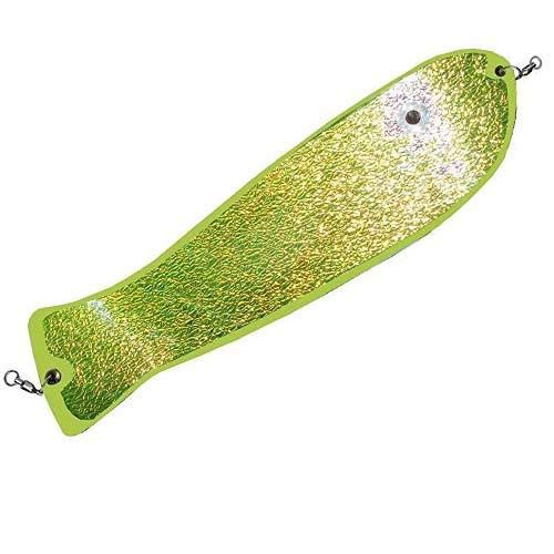 Pro-Troll Fishing Products Fish N Chip 11'' Fin Flasher, UV on Chartreuse