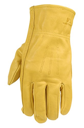 Leather Work Gloves - 8