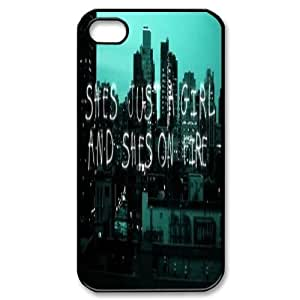 This girl is on fire High Qulity Customized Cell Phone Case for iPhone 4,4S, This girl is on fire iPhone 4,4S Cover Case