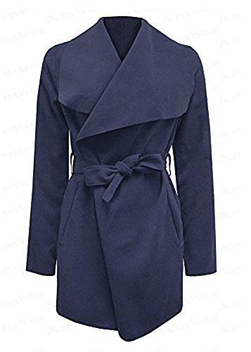 Verso Giacca Fashion Navy Impermeabile Donna SA47wqS1