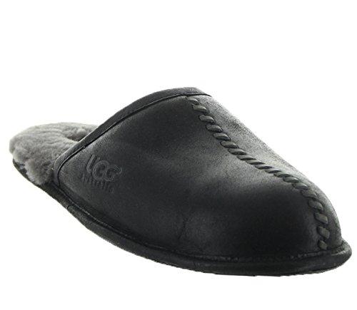 48df94c0e8e UGG Men's Scuff Deco Scuff Slipper, Black, 10 M US