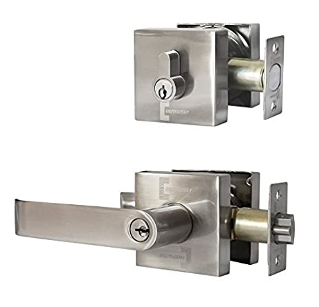 Constructor Guardian Entry Combo Lock Set Lever Deadbolt Single