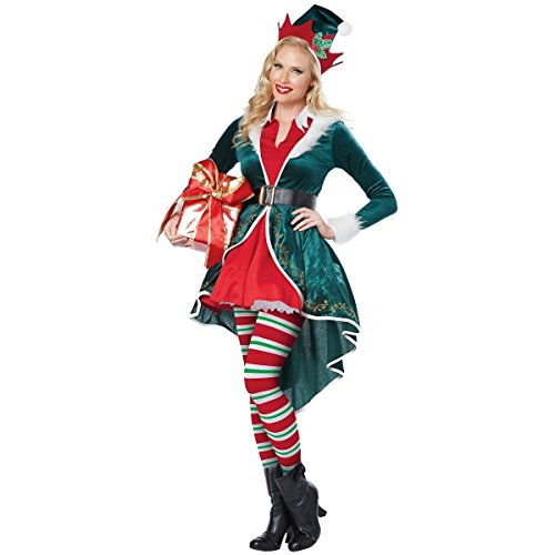 This elf costume for women is really cute and not too revealing if you have young children around. It comes with the coatdress belt hat and tights.  sc 1 st  Halloween Ideas For Women & The Best Christmas Elf Costume