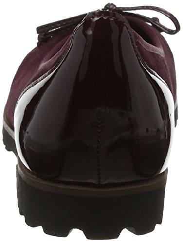 Gabor Dames Jollys Gesloten Ballerinas, Zwarte Rot (nieuw Merlot (cognac))