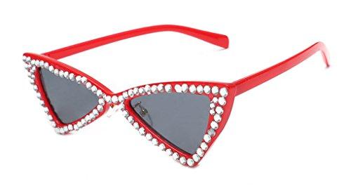 Womens Sunglasses Small Crystal Eyewear Candy Trendy Glasses New Designer - Trendy Cheap Glasses
