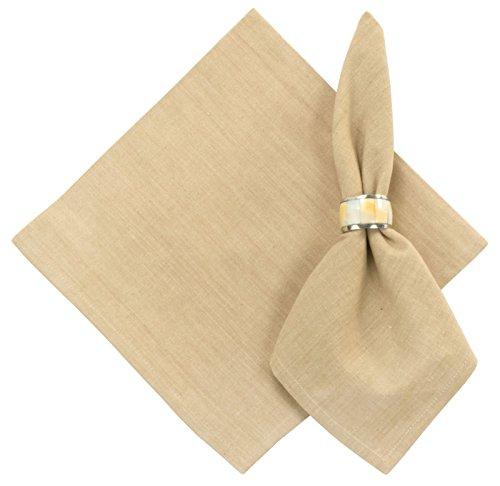 100% Cotton Solid Linen Tan 22