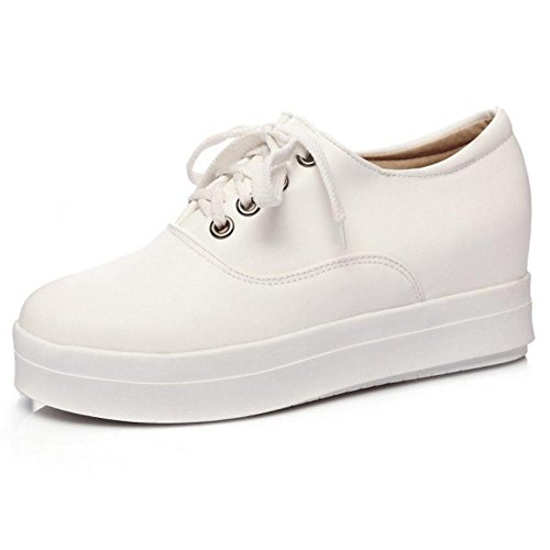 KemeKiss White Pumps Lace Women Up qwPR8