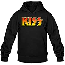 XIULUAN Men's Kiss Band Hoodied Sweatshirt M ColorName Long Sleeve