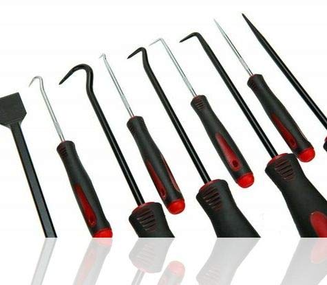 (9xPk Kit Scraper Hook&Pick Kit Large 10 inch w/Small 6.5