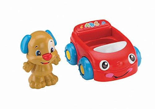 Fisher-Price Laugh & Learn Puppy's Learning Car (Fisher Price Laugh And Learn Puppy Push Car)