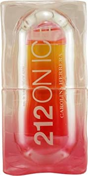 212 On Ice By Carolina Herrera For Women Edt Spray 2 Oz Edition 2009 Pink Yellow