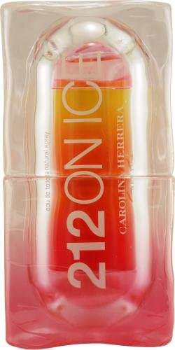 212 On Ice By Carolina Herrera For Women Edt Spray 2 Oz (Edition 2009 Pink/ Yellow)