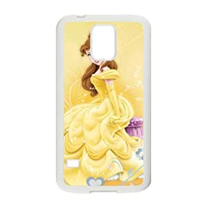 Beauty and the Beast lovely girl Cell Phone Case for Samsung Galaxy S5