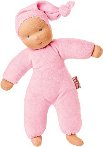 Kathe Kruse Organic Schatzi Baby Doll, Pink