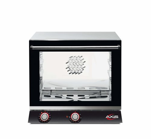 Axis AX-513H Electric Conv Oven - 1/2 Pan - Three shelves - Manual - One Fan