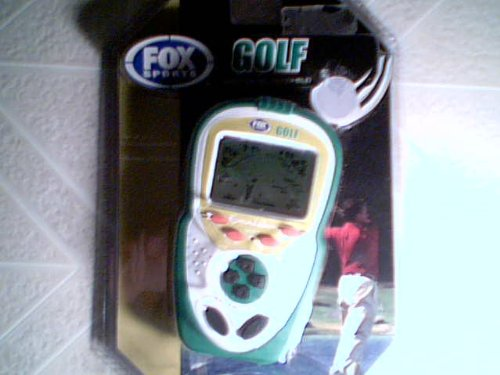 2007 Twentieth Century Fox Film Corporation Excalibur Electronics, Inc. Excalibur Fox Sports Golf LCD Hand-Held Game Model No. FX206-CS