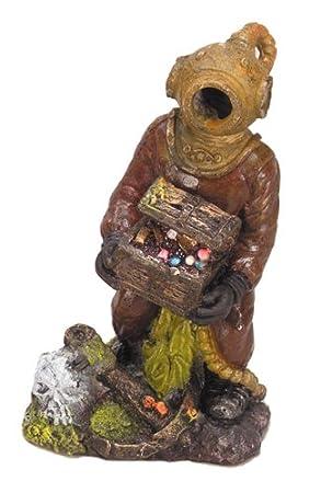 Europet Bernina internacional Acuario Decoración buzo con 15,24 cm), 14 cm: Amazon.es: Productos para mascotas