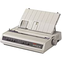 OKI62422401 - Microline ML186 Dot Matrix Printer Serial