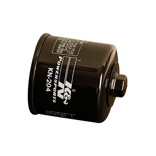 K&N KN-204C Powersports High Performance Oil Filter ()