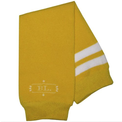 BabyLegs Baby-Girls:Baby-Boy's Academy Collection Leg Warmers, Yellow Sport, One ()