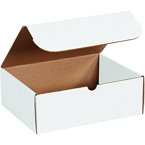 BOX USA ML14145 Literature Mailers, 14'' x 14'' x 5'', White (Pack of 50) by BOX USA