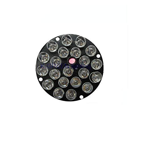 Jammas 10X 21LEDs 12V F8 850nm IR Infrared LED Light Board for CCTV Camera