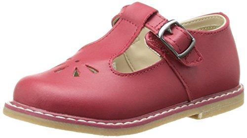 S T-Strap Sandal (Infant/Toddler/Little Kid),Red,3 M US Infant ()