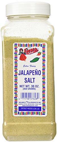 Bolner's Fiesta Extra Fancy Jalapeno Salt, 30 ()