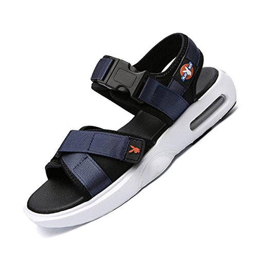 Uomo Ad Asciugatura Estivi Chiusura Sandali Traspiranti Blue Velcro Rapida Nuovi Esterni da Sandali Sportivi da Spiaggia Sandali CHENGXIAOXUAN Sandali Casual Scarpe A 2018 con 8wIRT1q