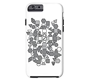 Amidst The Chaos iPhone 4s White Tough Phone Case - Design By FSKcase?