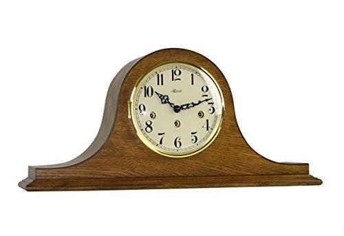 Hermle Sweet Briar 21135040340 (Brown Oak Tambour Clock)