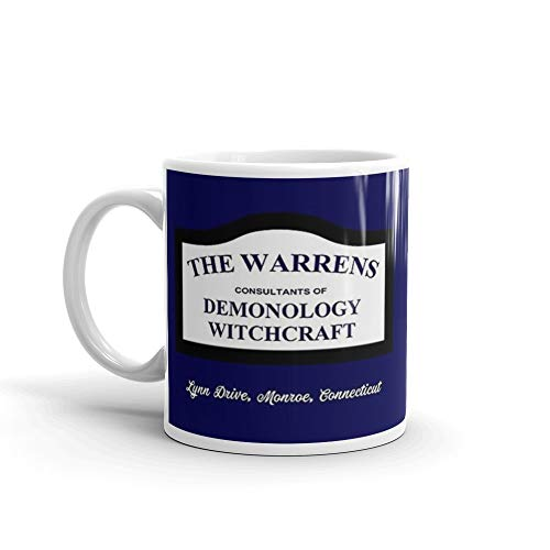 (The Conjuring - The Warrens Sign Mug 11 Oz White)