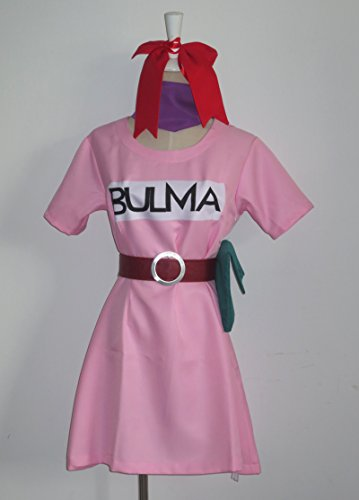 [Cosplaygalaxy Anime Dragonball Z Bulma Cosplay Costume] (Bulma Costume)