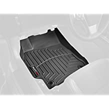 WeatherTech Custom Fit Front FloorLiner for Audi Q5 (Black)