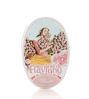 Rose Flavored Hard Candy 50 g by Les Anis de Flavigny (3 PACK)