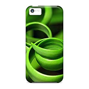 New Style AlexandraWiebe Green Coils Closeup Premium Covers Cases For Iphone 5c