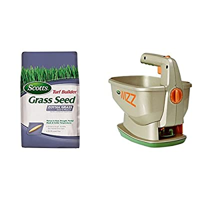 Scotts Turf Builder Grass Seed and Mulch, 5-Pound