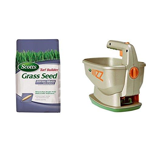 (Scotts Turf Builder Zoysia Grass Seed & Mulch and Wizz)