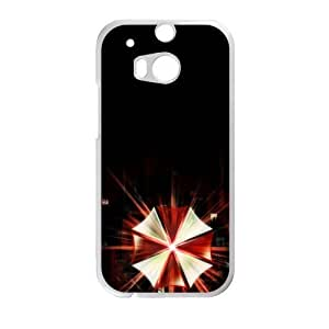 Cool-Benz video games s Resident Evil Umbrella Corp logos Phone case for Htc one M8 BY supermalls