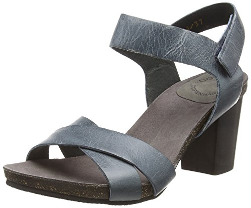 133 West Women's Open A15054 Blau Toe Blue Sandals cashott wBqOHpx
