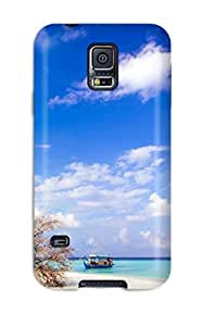 Durable Beach Side Back Case/cover For Galaxy S5