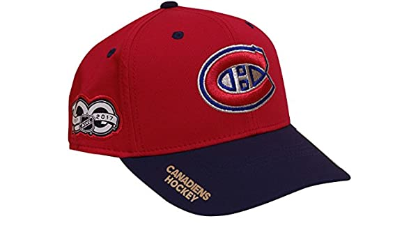 Amazon.com   adidas Montreal Canadiens 100th Year Structured Flex Hat  (Small Medium)   Sports   Outdoors 7dcb30085b94
