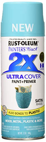 Rust-Oleum 315395 Painter's Touch 2X Ultra Cover, 12 oz, Seaside